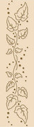 Lea'bilities Border Embossing Folder - Ivy Swirl