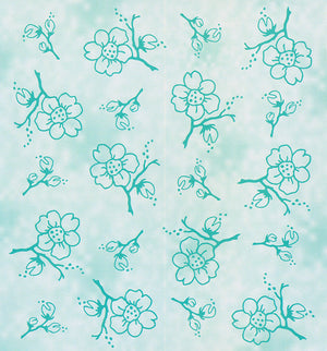Lea'bilities Embossing Folder - Blossom