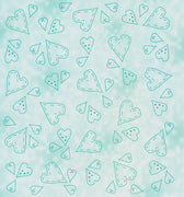 Lea'bilities Embossing Folder - Hearts