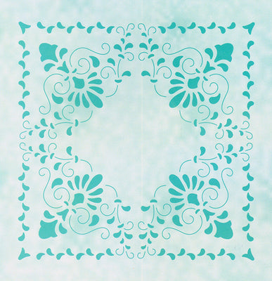 Lea'bilities Embossing Folder - Curlicue
