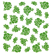Lea'bilities Embossing Folder - background Roses