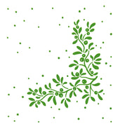 Lea'bilities Embossing Folder - Mistletoe