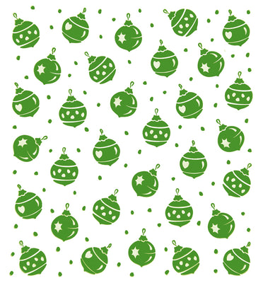 Lea'bilities Embossing Folder - Christmas ornaments