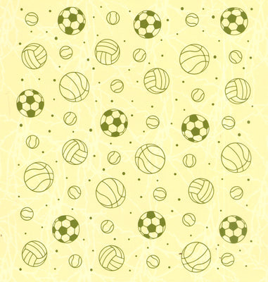Embossing folder background Sport 6