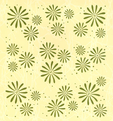 Embossing folder background Flowers 6