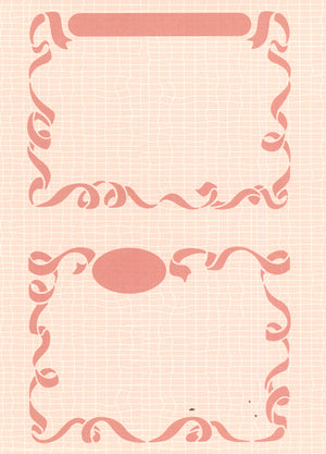 Embossing folder 2 Little Frames