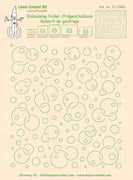 Leane Creatief BV-Embossing Folder Background Circles