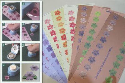 Pre-Printed Flower sheets
