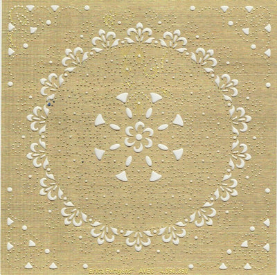 Embroidery Multi Stencil Vic Circle