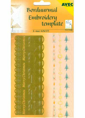 Special Embroidery template Christmas