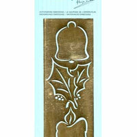Embossing Stencil - Bell/Holly/Candle (AE1211)