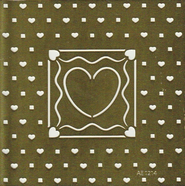 Large Heart Stencil (AE1214)
