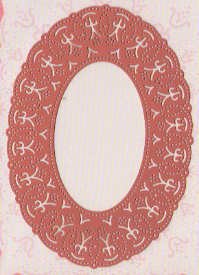 Ornare Vellum and Piercing Template - oval (PR0560)