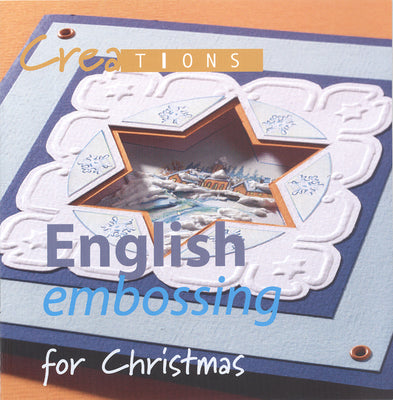 Creations Book English Embossing for Christmas