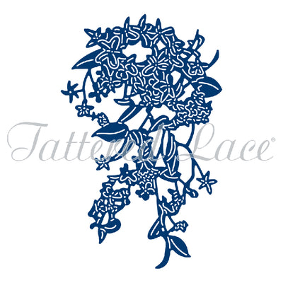 Tattered Lace Die - Climbing Jasmine