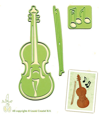 Lea'bilities Embossing and Cutting Die - Violin