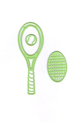 Lea'bilitie Tennis racket, cut and embossing die