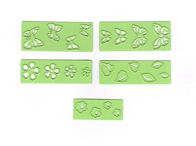 Lea'bilitie small Butterlies & Flowers, cut and embossing