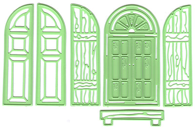 Leabilitie Window & shutters  cut and embossing die