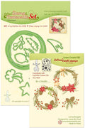 Leabilitie Die & Stamp Set - Christmas Wreath