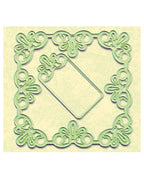 Lea'bilitie Die - frame square lace cut and embossing die