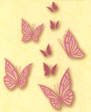 LeCreaDesign clear stamp small Butterflies