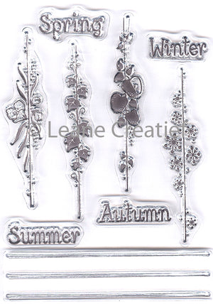 Project Life & Cards clear stamp Seasons