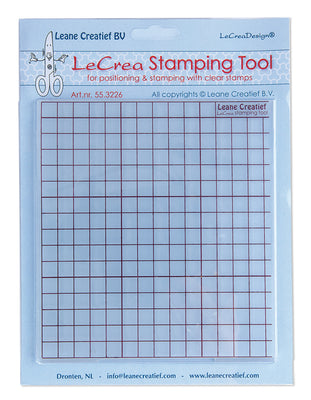 LeCrea Stamping Tool for Positioning & Stamping Clear Stamps