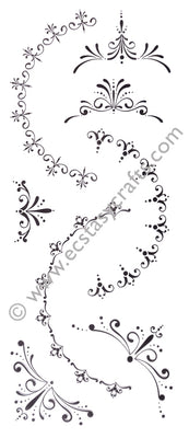 LeCrea Clear Stamp - Decorations 1 Small