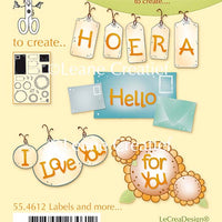 Clear Stamp Labels and More