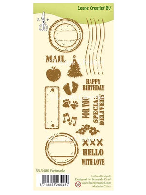 Lecreadesign Clear Stamp Postmarks