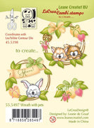 Lecreadesign Clear Stamp Wreath With Pets