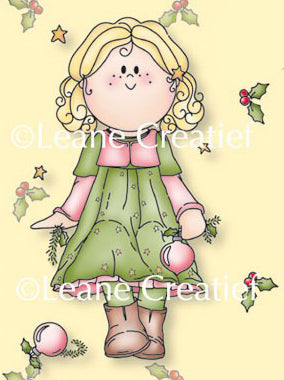 Clear Stamp Bambini Christmas Girl