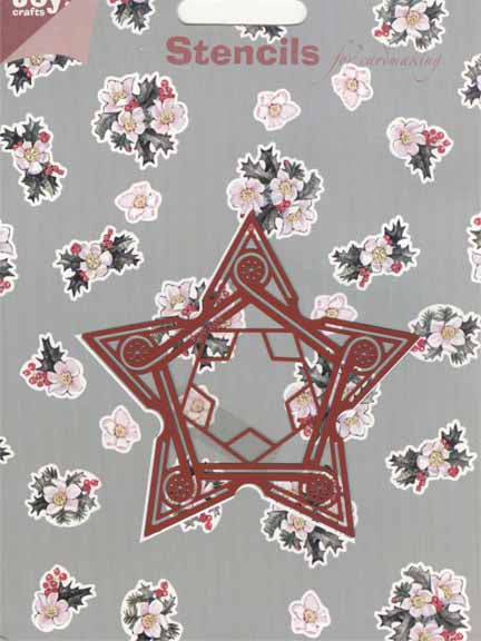 Joy! Crafts Stencil Christmas Star Stencil