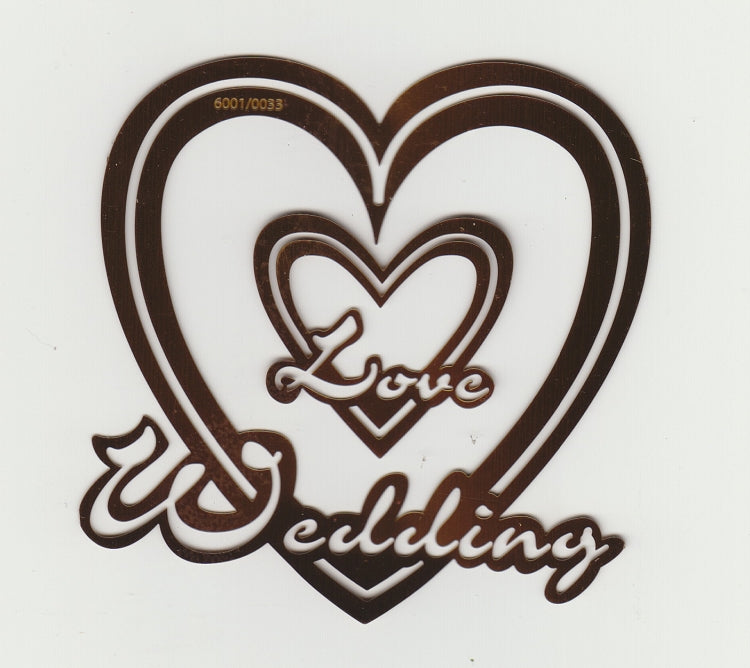 Text Stencil - Wedding/Love