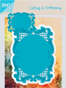 Joy! Crafts Cutting Die - Lacey Rectangle Frame