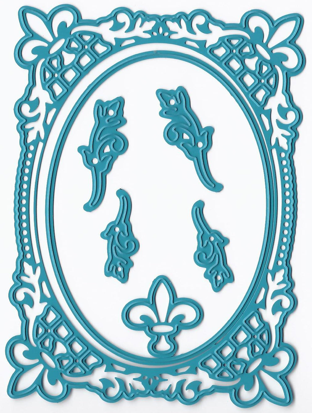 Joy! Crafts Cutting Die - French Lily Oval