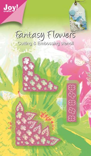 Joy! Crafts Cutting Die - 3D Fantasy Flower Corners