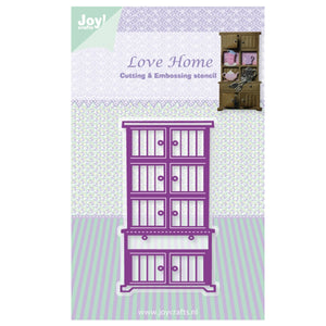 Joy! Crafts Cutting Die - Love Home - Cupboard