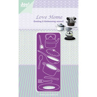 Joy! Crafts Cutting Die - Love Home - Cutlery and Pans