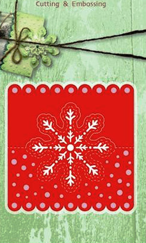 Joy! Crafts Cutting Die - Headcard snowflake