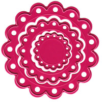 Joy! Crafts Cutting Die - Mini Scalloped Circles