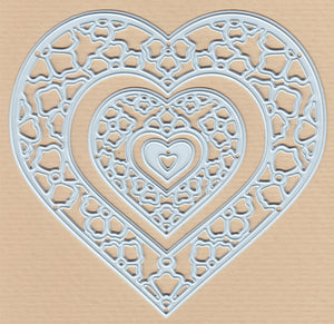 Joy! Crafts Cutting Die - Gerti's hearts (3)