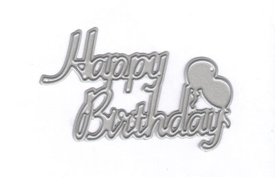 Joy! Crafts Cutting Die - Happy Birthday Text