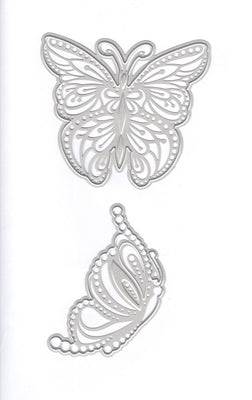 Joy! Crafts Cutting Die - Butterflies Graceful 2pc