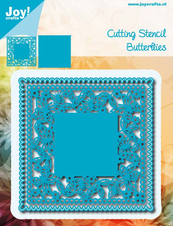 Joy! Crafts Cutting Die - Square Butterfly With Frame