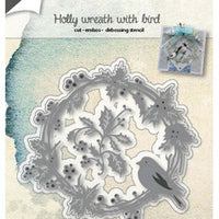 Joy! Crafts Cutting Die - Wreath With Finch