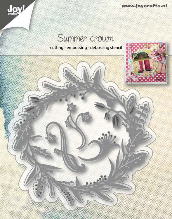 Joy! Crafts Cutting Die - Summer Crown Wreath