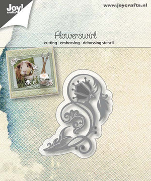Joy! Crafts Cutting Die - Flowerswirl