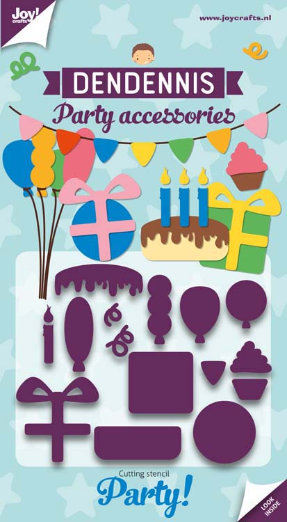 Joy! Crafts Cutting Die - Dendennis Party - Party-Accessories
